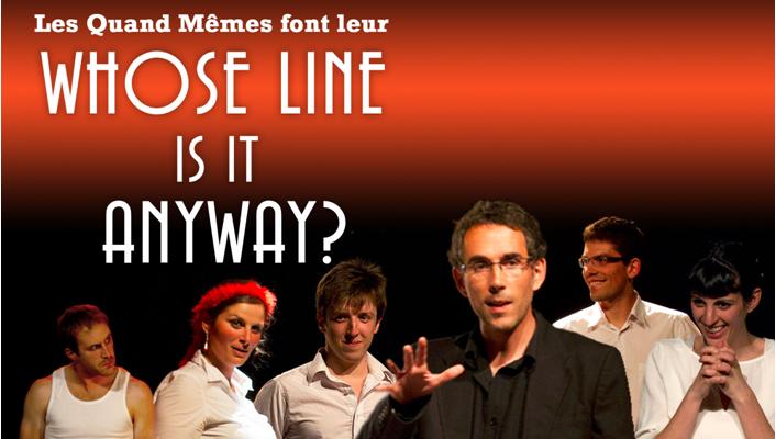 12 Janvier : « Whose line is it anyway? », à l'Atelier du 8