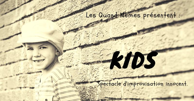 21 Mars : « KIDS », à la Basse Cour